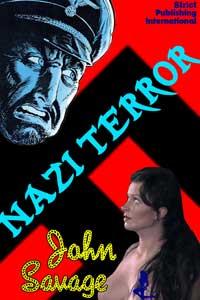 cover design for the book entitled Nazi Terror