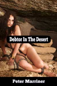 cover design for the book entitled Debtor In The Desert