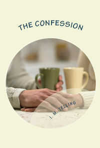 cover design for the book entitled The Confession