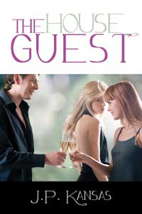 cover design for the book entitled The House Guest