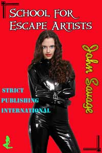 cover design for the book entitled School for Escape Artists