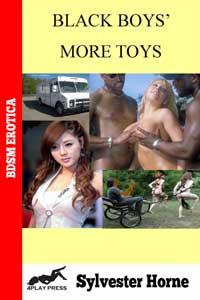 cover design for the book entitled BLACK BOYS