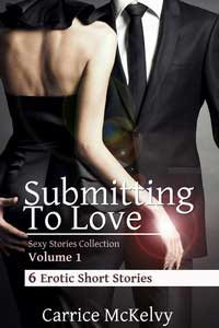 cover design for the book entitled Submitting To Love