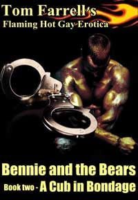 cover design for the book entitled Bennie and the Bears: books two - A Cub in Bondage