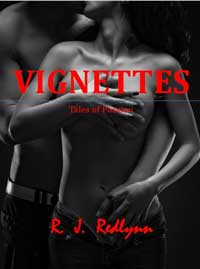 cover design for the book entitled Vignettes -Tales of Passion