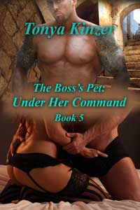 cover design for the book entitled Under Her Command