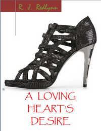 cover design for the book entitled A Loving Heart
