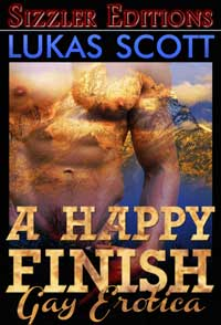cover design for the book entitled A HAPPY FINISH