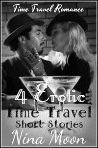 cover design for the book entitled Time Travel Romance