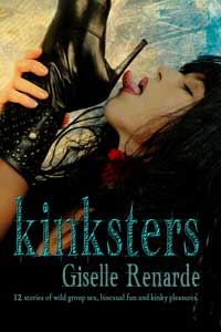 cover design for the book entitled Kinksters