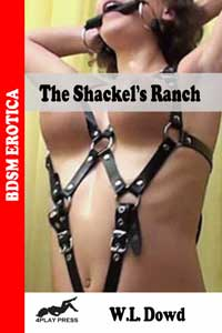 cover design for the book entitled The Shackel