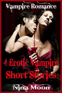 cover design for the book entitled Vampire Romance