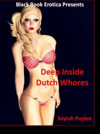 cover design for the book entitled DEEP INSIDE-Dutch Whores