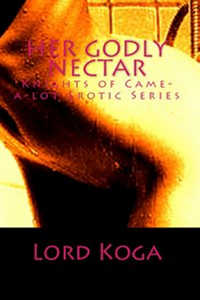 cover design for the book entitled Her Godly Nectar