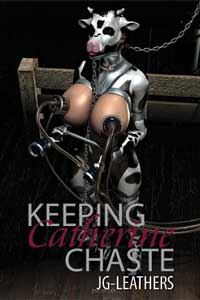 cover design for the book entitled Keeping Catherine Chaste