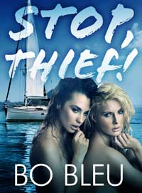 cover design for the book entitled Stop! Thief!