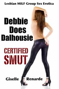 cover design for the book entitled Debbie Does Dalhousie