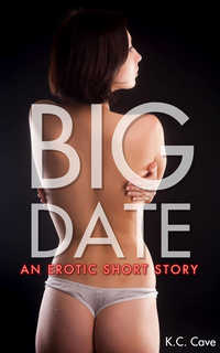 cover design for the book entitled Big Date