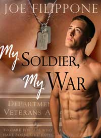 cover design for the book entitled MY SOLDIER, MY WAR