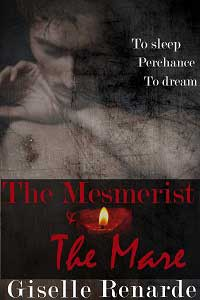cover design for the book entitled The Mesmerist and the Mare