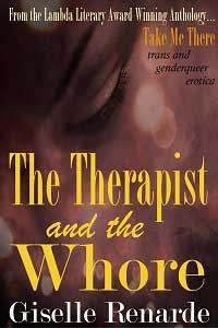 cover design for the book entitled The Therapist and the Whore