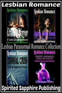 cover design for the book entitled Lesbian Romance