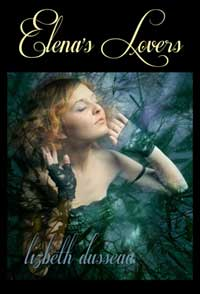 cover design for the book entitled Elena