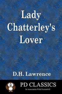 cover design for the book entitled Lady Chatterley