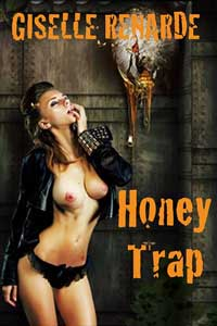 cover design for the book entitled Honey Trap