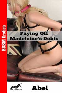 cover design for the book entitled Paying Off Madeleine
