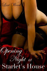 cover design for the book entitled Opening Night at Starlet