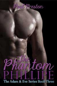 cover design for the book entitled The Phantom Phillipe
