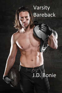 cover design for the book entitled Varsity Bareback