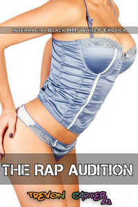cover design for the book entitled The Rap Audition