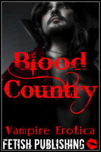 cover design for the book entitled Blood Country