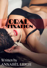 cover design for the book entitled Oral Fixation