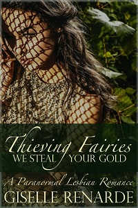 cover design for the book entitled Thieving Fairies