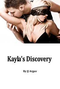 cover design for the book entitled Kayla