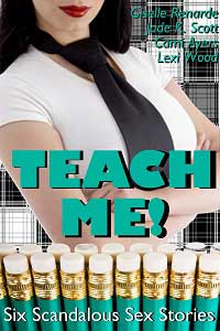 cover design for the book entitled Teach Me