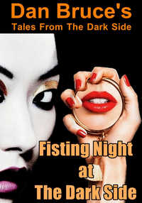 cover design for the book entitled Fisting Night at The Dark Side