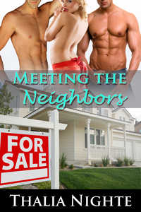 cover design for the book entitled Meeting the Neighbors
