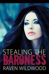 cover design for the book entitled Stealing the Baroness