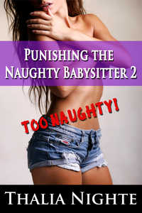 cover design for the book entitled Punishing the Naughty Babysitter 2