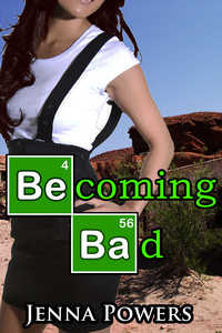 cover design for the book entitled Becoming Bad