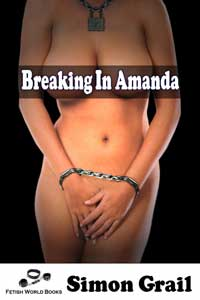 cover design for the book entitled Breaking in Amanda