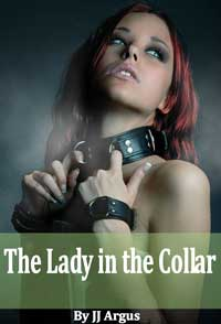 cover design for the book entitled The Lady In The Collar