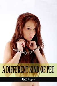 cover design for the book entitled A Different Kind of Pet