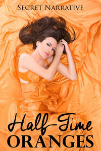 cover design for the book entitled Half-Time Oranges