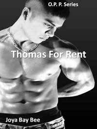 cover design for the book entitled O.P.P.: Thomas For Rent