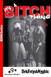 cover design for the book entitled ITS A BITCH THING 5 - APOCALYPSE 1